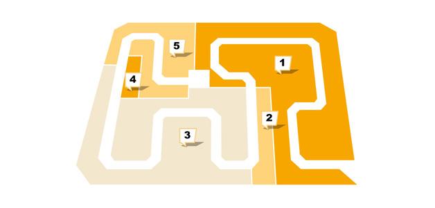 Sconto in Hanau - Etagenplan - Obergeschoss