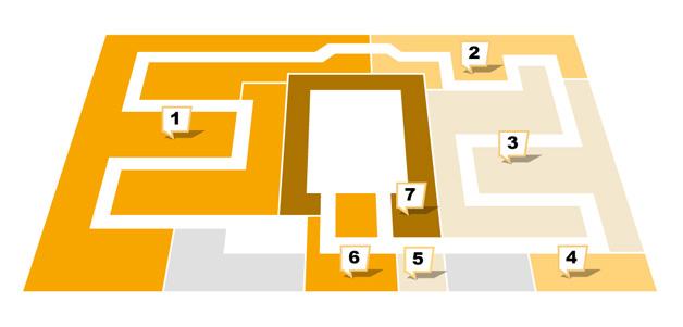 Sconto in Fürth - Etagenplan - Obergeschoss