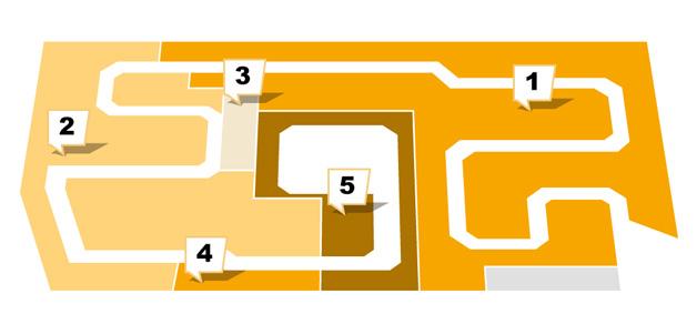 Sconto in Weiterstadt - Etagenplan - Obergeschoss