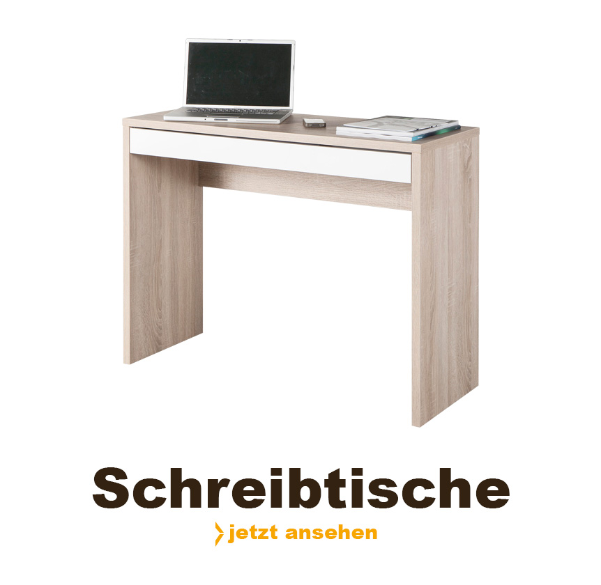 Praktische Schreibtische von Sconto.