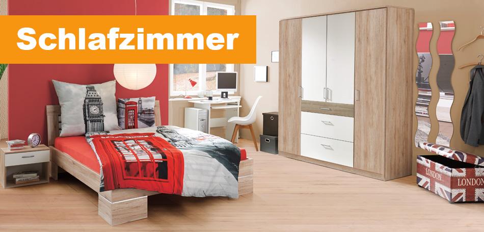 Traumhafte Schlafzimmermöbel von Sconto