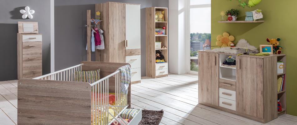 Frische Kinderzimmermöbel von Sconto