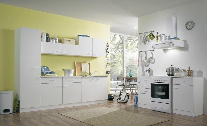 Einbauküche Klassik 50 Weiß - stellen Sie sich Ihre Einbauküche zusammen