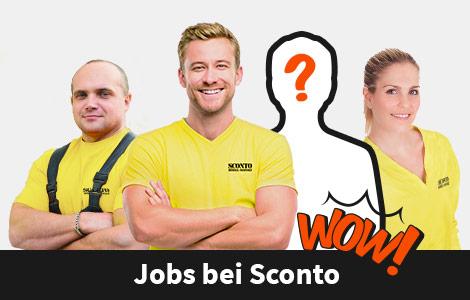 Stellenangebote bei SCONTO