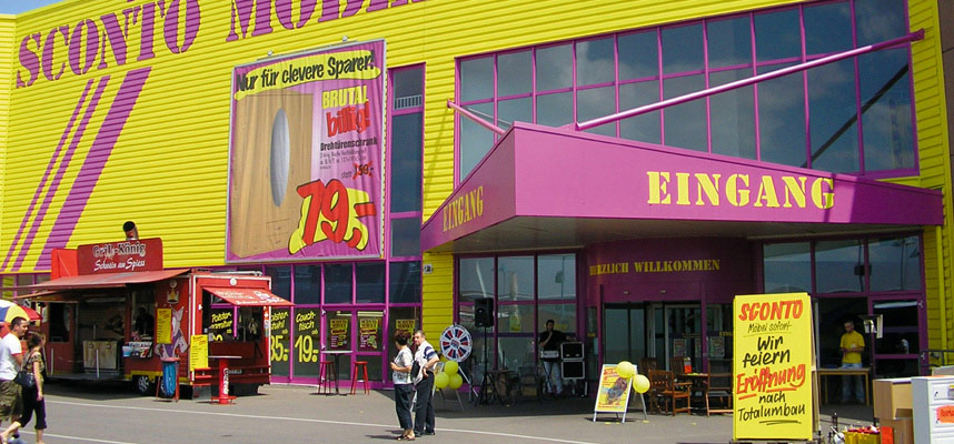Sconto filialen in deutschland sconto der m belmarkt - Mobelmarkt magdeburg ...