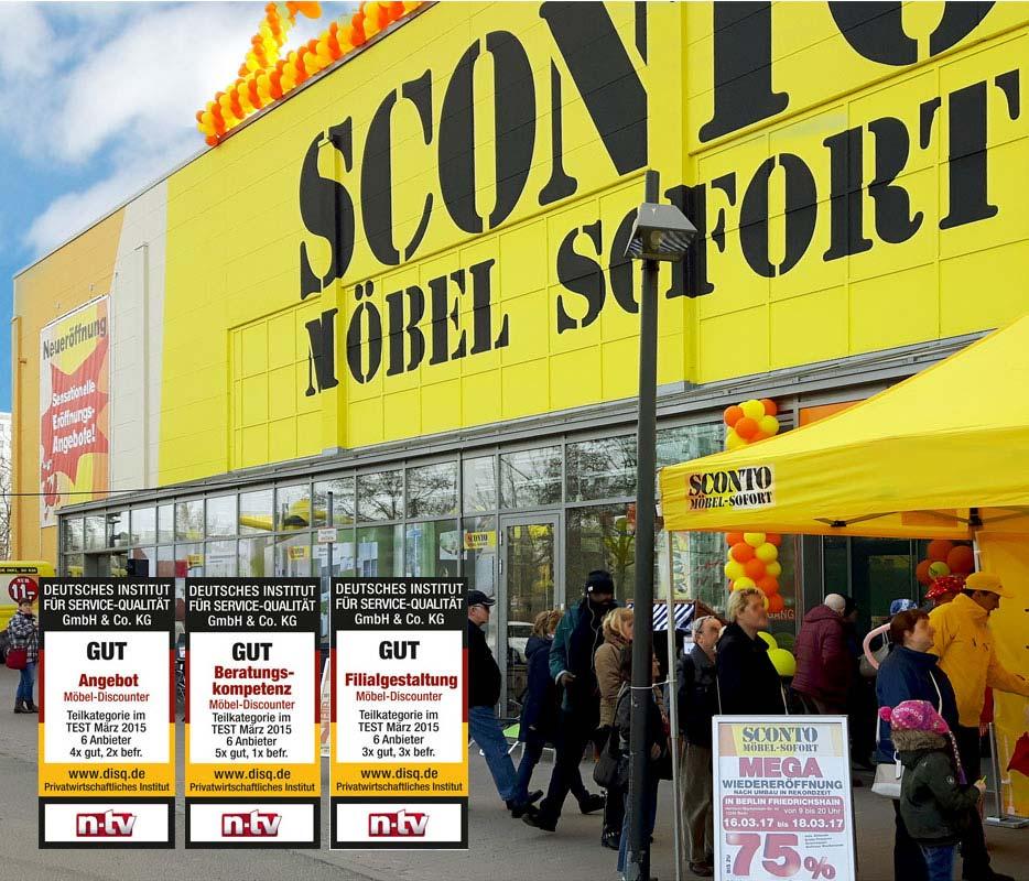Sconto Sb Der Möbelmarkt In Berlin Friedrichshain