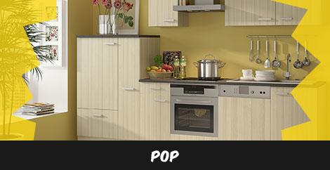 Einbauküche Pop - stellen Sie sich Ihre Einbauküche zusammen