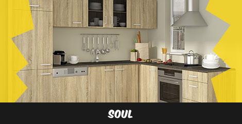 Einbauküche Soul - stellen Sie sich Ihre Einbauküche zusammen