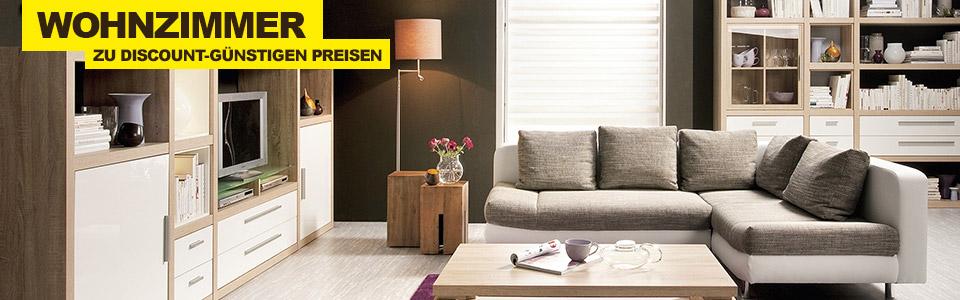 Wohnzimmermöbel günstig bei SCONTO online kaufen.