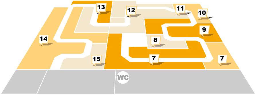 Sconto in Lübeck - Erdgeschoss