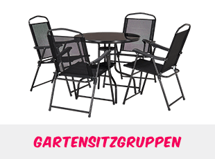 Gartensitzgruppen