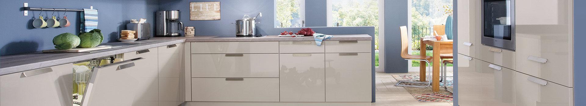 U-förmige Küchen kaufen bei Sconto