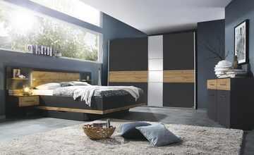 Komplett-Schlafzimmer  Boston Extra / Korbach