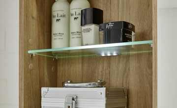 LED-Glasbodenclips für Spiegelschrank  Zeltweg