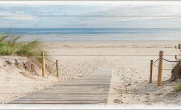 """Kunstleinwand  """"Sea Harmony"""""""