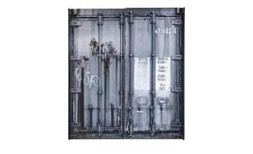Schwebetürenschrank 2-türig  Container