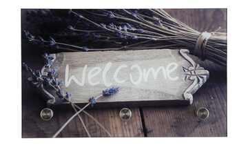 Glasgarderobe  Welcome