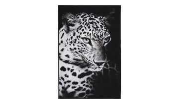 digital bedruckter Webteppich  Leopard