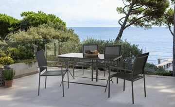 Garten-Sitzgruppe, 5-teilig  Lipsi & Budva