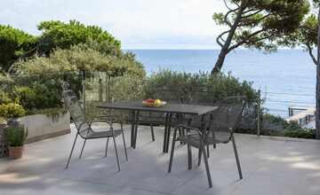 Garten-Sitzgruppe, 5-teilig  Thasos & Vincenza