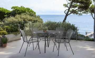 Garten-Sitzgruppe, 5-teilig  Thermi & Trikala