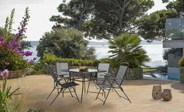 Garten-Sitzgruppe, 5-teilig  Cordoba & Sienna