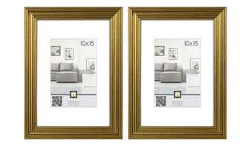 Kunststoffbilderrahmen 10x15 cm, 2er-Set   Salerno