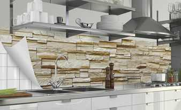 Küchenrückwand-Folie  Fixy Rustical Bricks