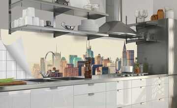 Küchenrückwand-Folie  Fixy New York City