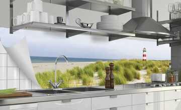 Top Küchenrückwand-Folie Fixy Ashley   220 cm, Ashley - Wellenmuster BQ25