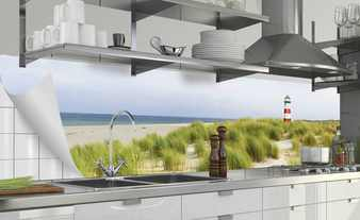 Küchenrückwand-Folie  Fixy Nordseestrand