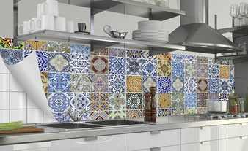 Küchenrückwand-Folie  Fixy Pablo Fliese