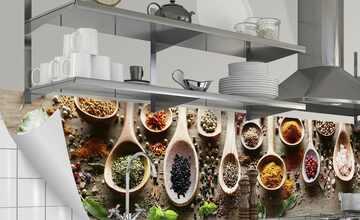 Küchenrückwand-Folie  Fixy Spicy Kitchen