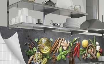 Küchenrückwand-Folie  Fixy Fresh Spice