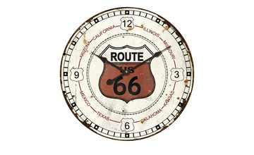 "Wanduhr ""Route 66"""