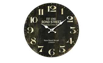 "Wanduhr ""Bond Street"""