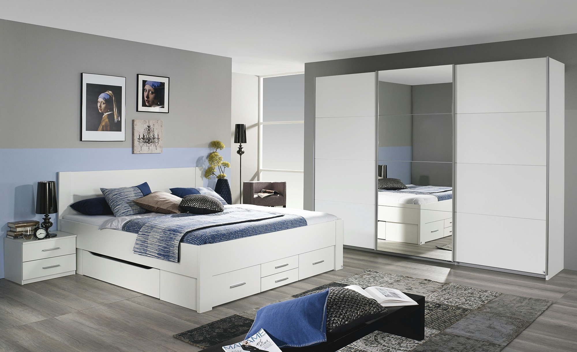 Komplett-Schlafzimmer Kulmbach / Isotta, gefunden bei Sconto