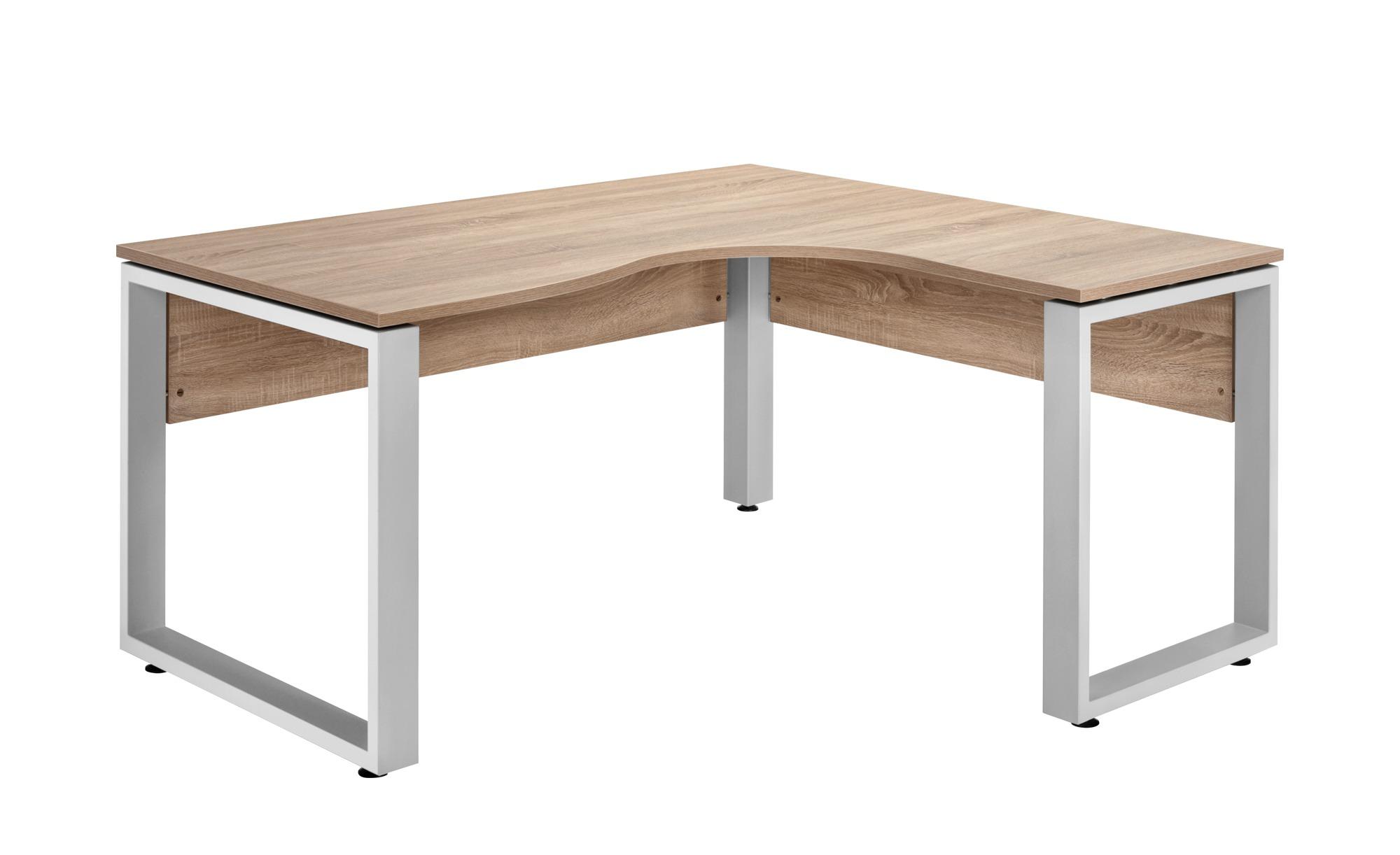 Schreibtisch Winkelkombination Sonoma Eiche Nachbildung