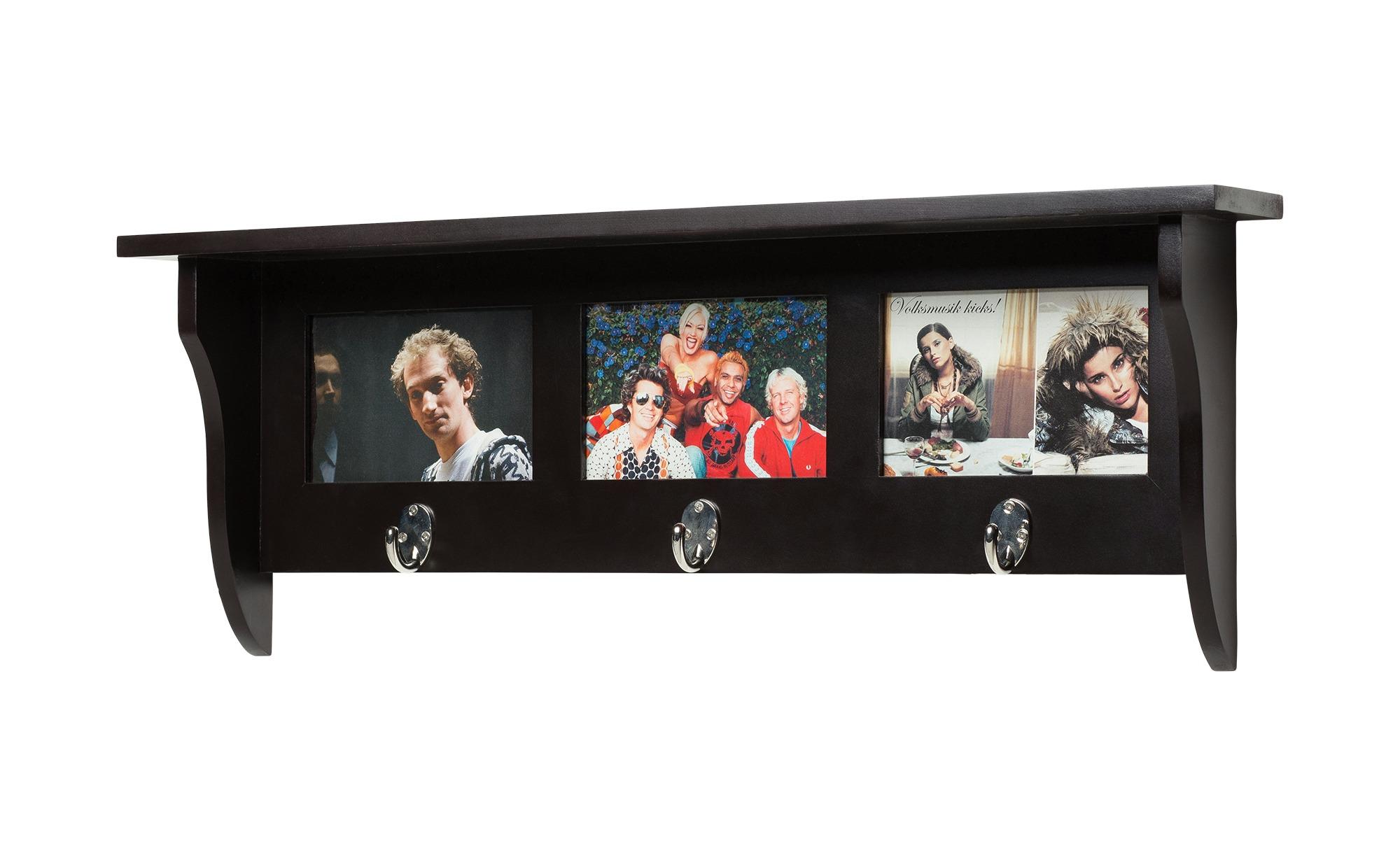 Love it Garderobe mit Bilderrahmen - schwarz - 62 cm - 23,5 cm - 10 cm - Sconto | Dekoration > Bilder und Rahmen > Rahmen | Love it