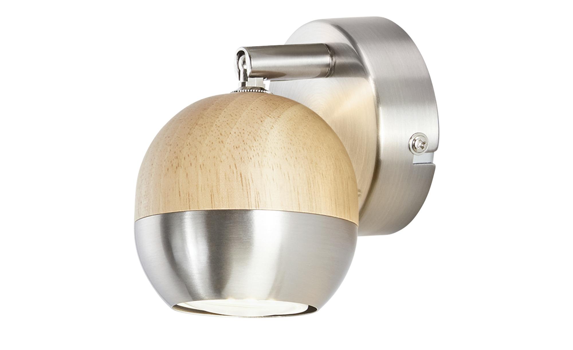 LED-Spot aus Holz und Metall von KHG