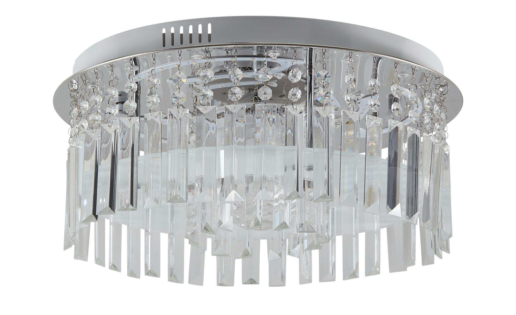 KHG LED Deckenleuchte mit Discokugel silber 25 cm Sconto