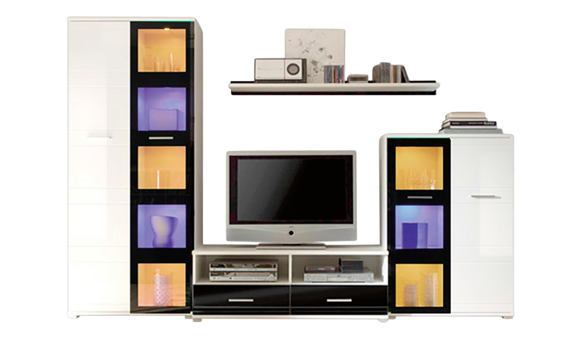 Wohnwand Weiß Sconto Der Möbelmarkt
