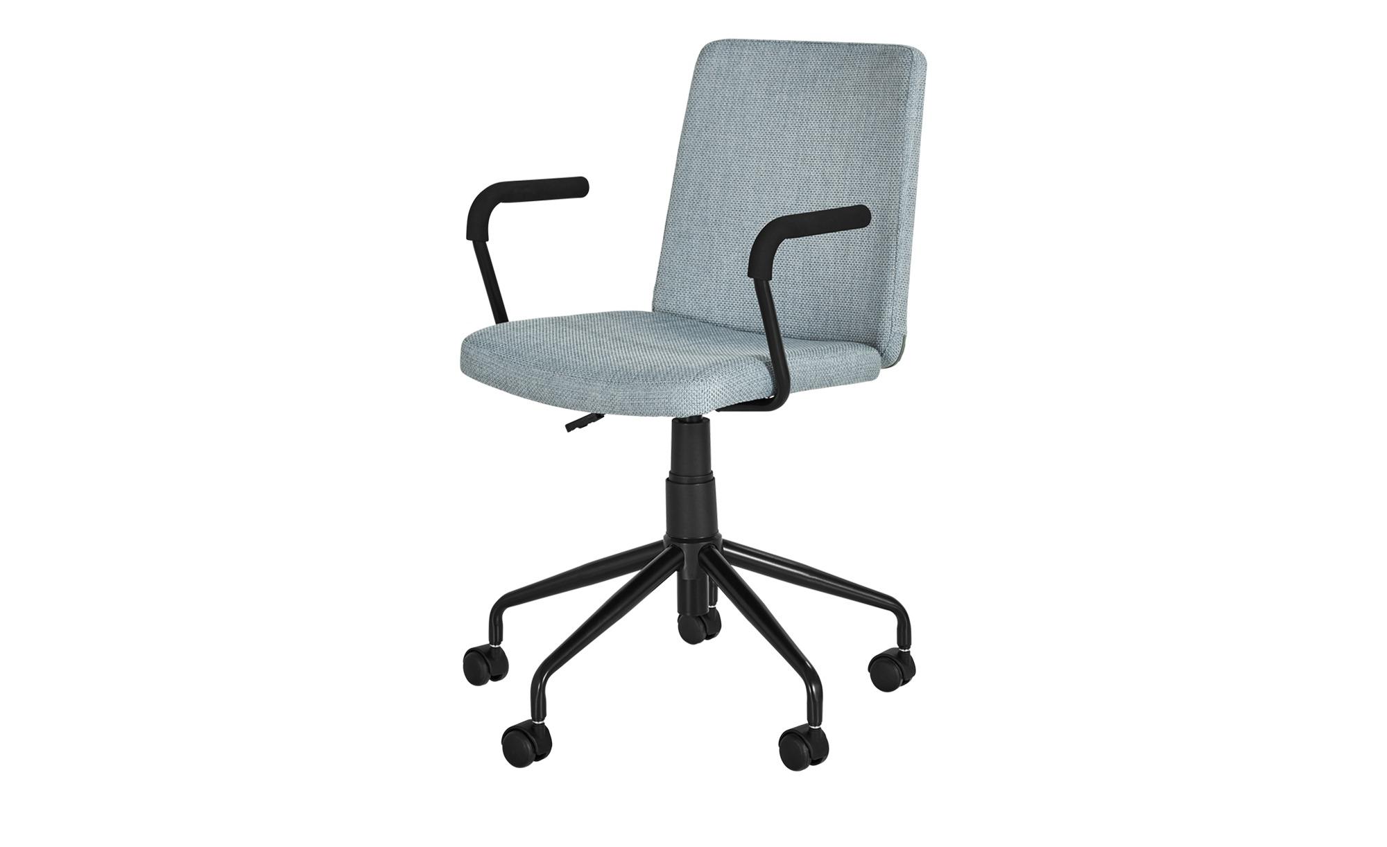 Bürodrehstuhl Andoma ¦ blau Stühle > Bürostühle > Drehstühle Höffner