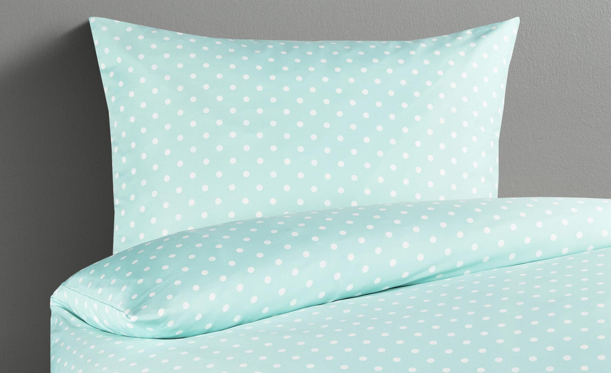 Lavida Bettwäsche aus Microsatin 'Dot'