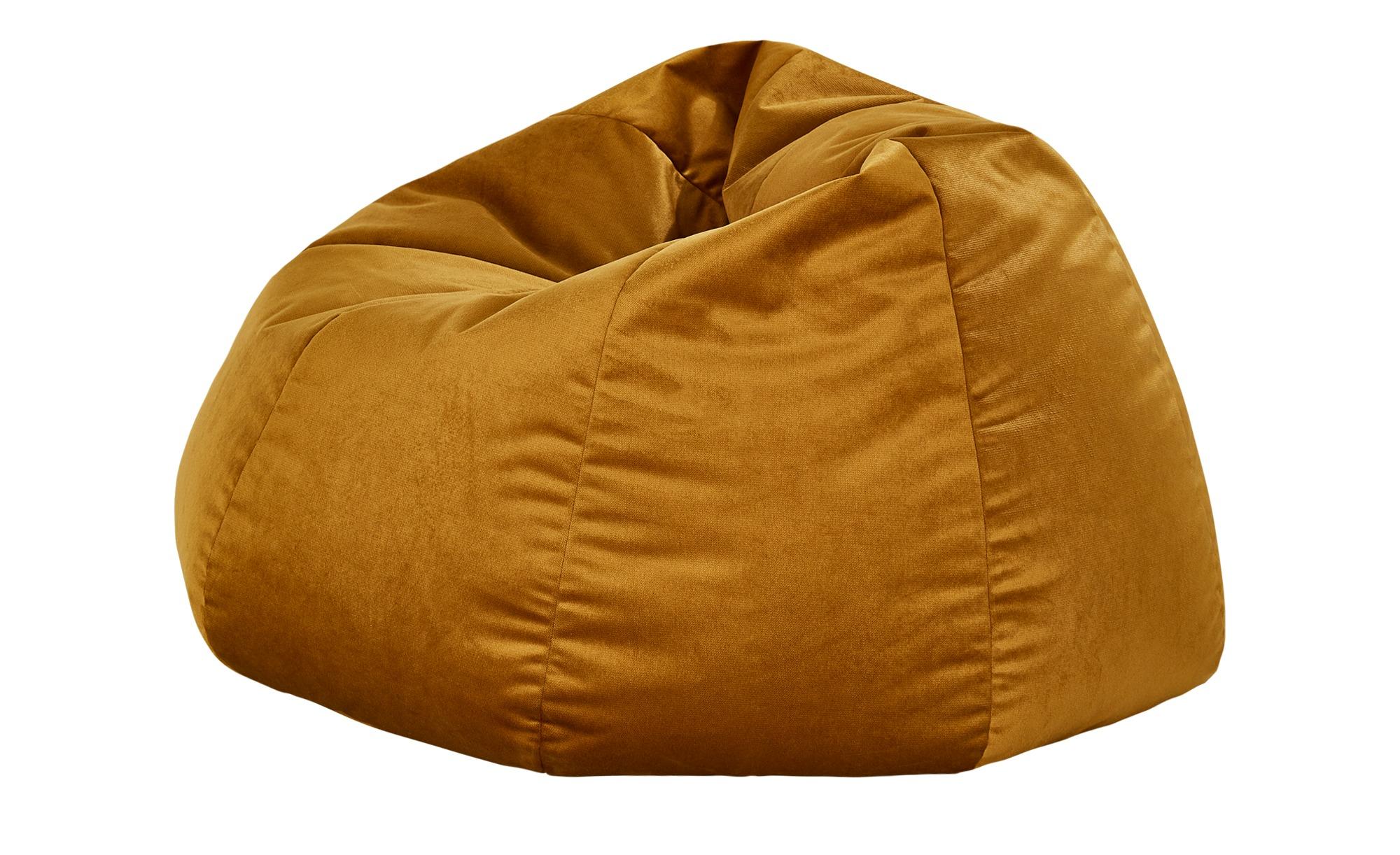 Sitzsack in Gold - Glamour für moderne Ambiente