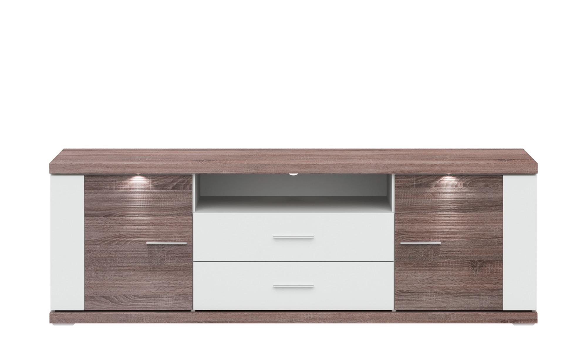 uno TV-Lowboard - holzfarben - 180 cm - 60 cm - 52 cm - Sconto | Wohnzimmer > TV-HiFi-Möbel > TV-Lowboards | uno