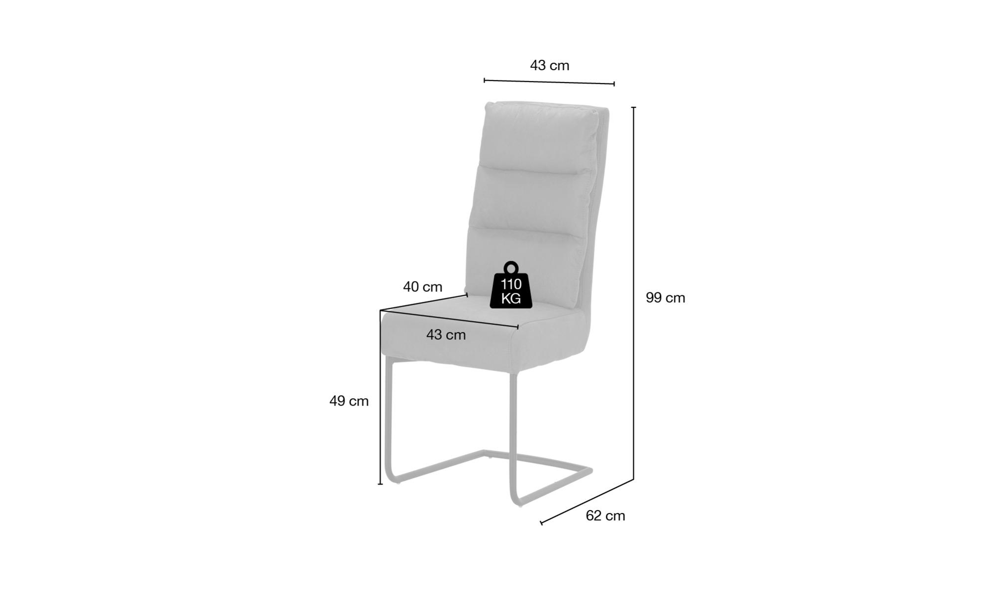 Schwingstuhl Grau Sconto Der Möbelmarkt