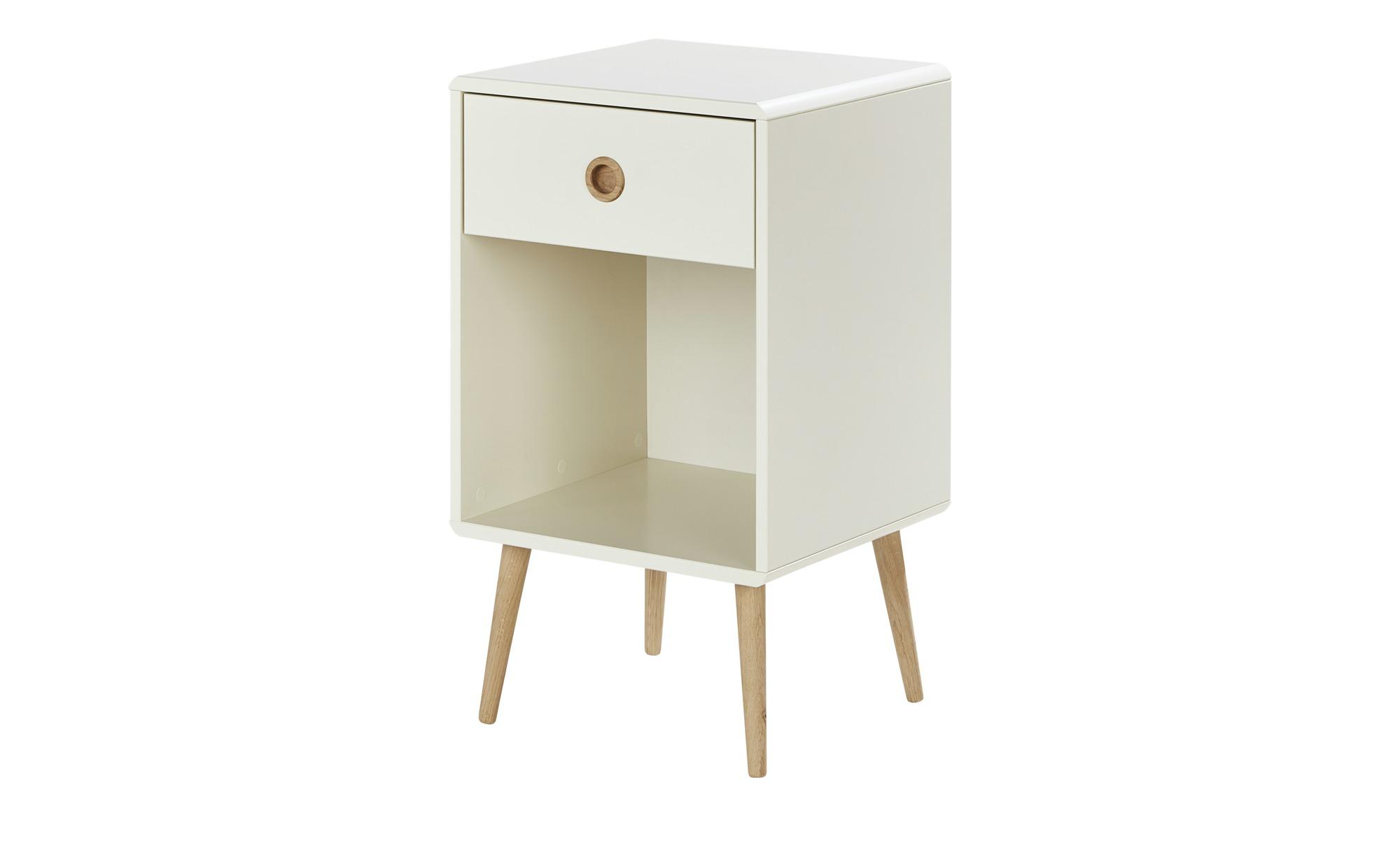 Nachttisch - weiß - 41,4 cm - 73,2 cm - 39,6 cm - Sconto   Schlafzimmer > Nachttische   Sconto