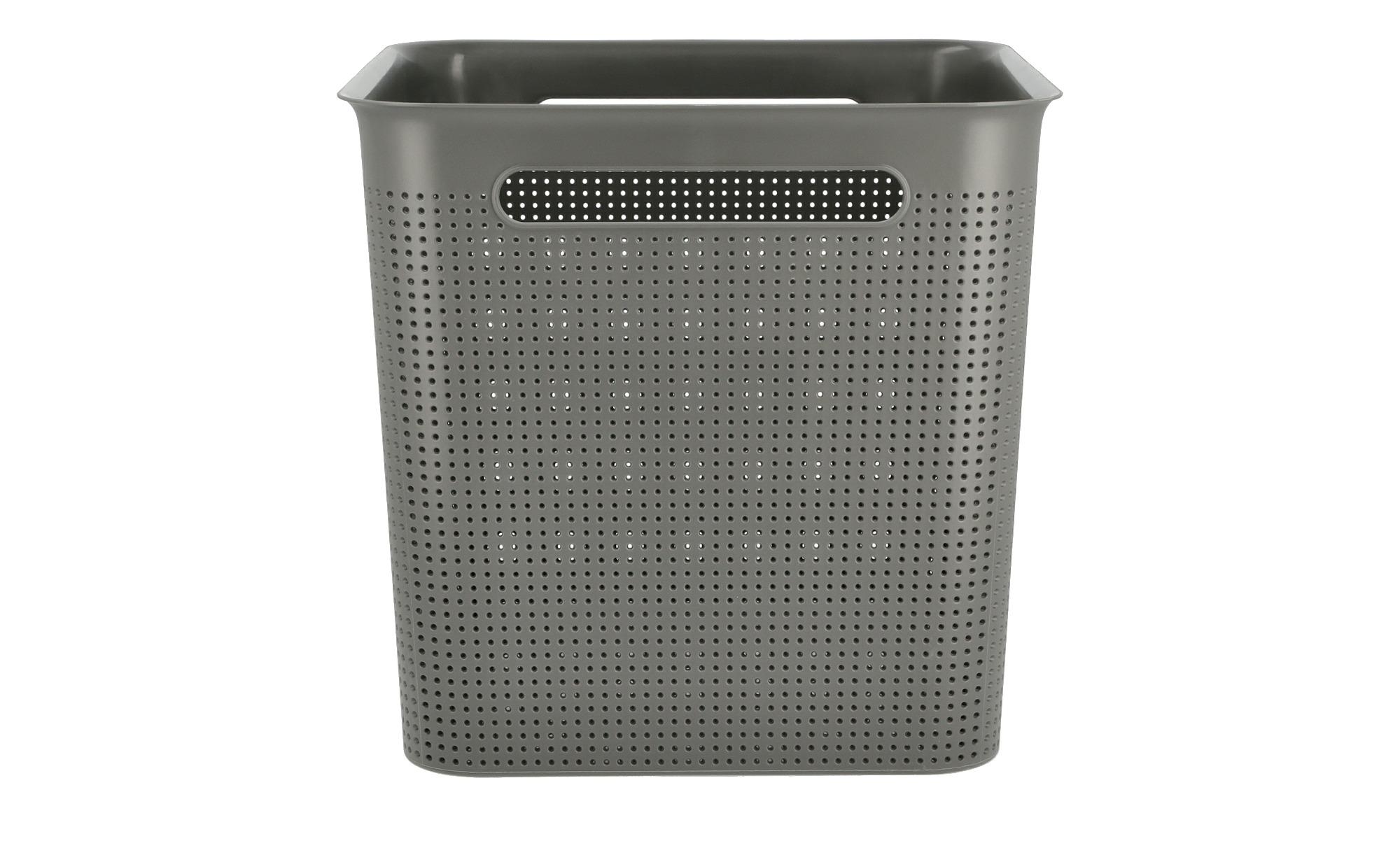 Rotho Aufbewahrungsbox - grau - Kunststoff - 29 cm - 28 cm - 29 cm - Sconto | Dekoration > Aufbewahrung und Ordnung > Korbwaren | Rotho