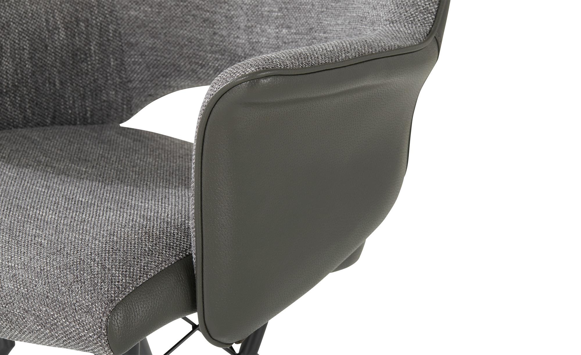 uno Sessel Vineo grau 63 cm 86,5 cm 66 cm Stühle > Esszimmerstühle Möbel Kraft